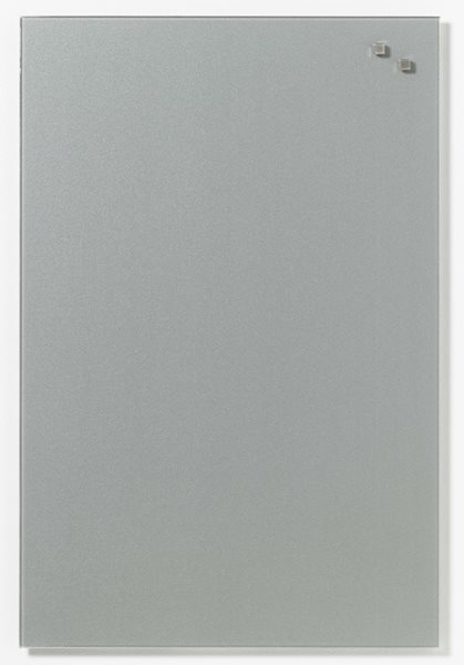 NAGA skleněná magnetická tabule 40 x 60 cm, stříbrná