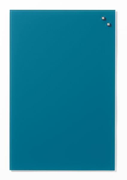 NAGA skleněná magnetická tabule 40 x 60 cm, modrozelena