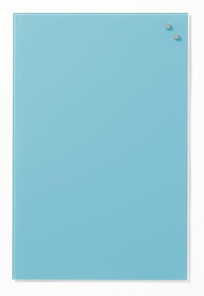 NAGA skleněná magnetická tabule 40 x 60 cm, tyrkysová