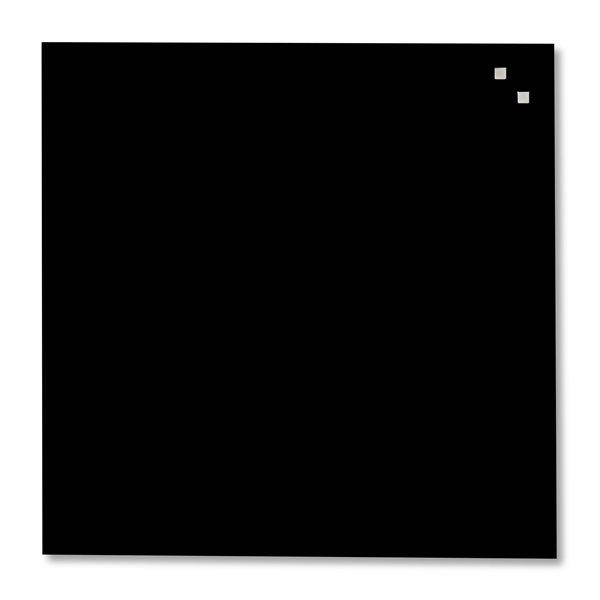 NAGA skleněná magnetická tabule 45 x 45 cm, černá