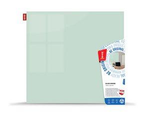 Memoboards Skleněná magnetická tabule 45 × 45 cm, bílá