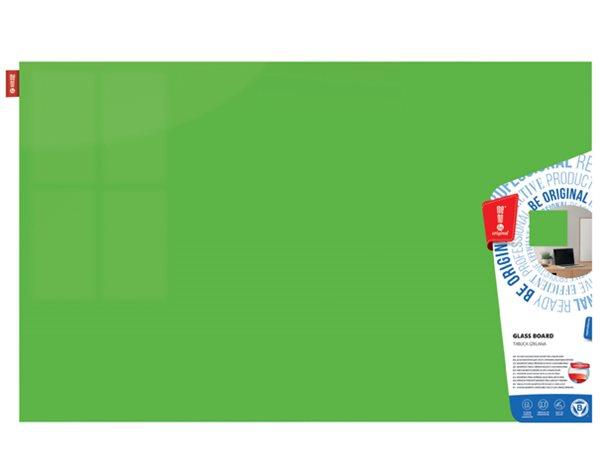 Memoboards Skleněná magnetická tabule 60 × 40 cm, zelená