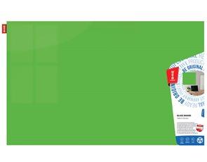 Memoboards Skleněná magnetická tabule 100 × 150 cm, zelená