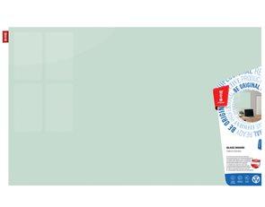 Memoboards Skleněná magnetická tabule 100 × 200 cm, bílá