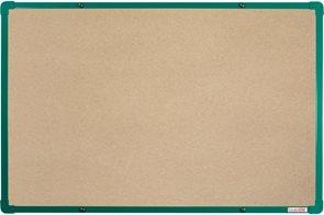 BoardOK Tabule s textilním povrchem 60 × 90 cm, zelený rám