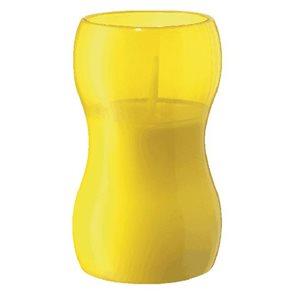 Žlutá venkovní svíčka