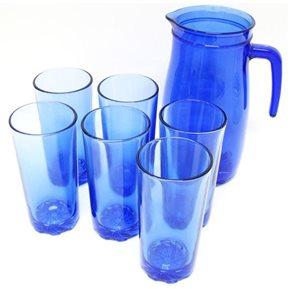 Set džbánu a 6 sklenic