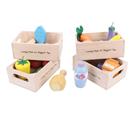Set zdravých potravin ve čtyřech krabičkách
