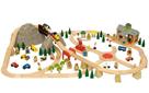 Dřevěná vláčkodráha Horská cesta 112 dílů