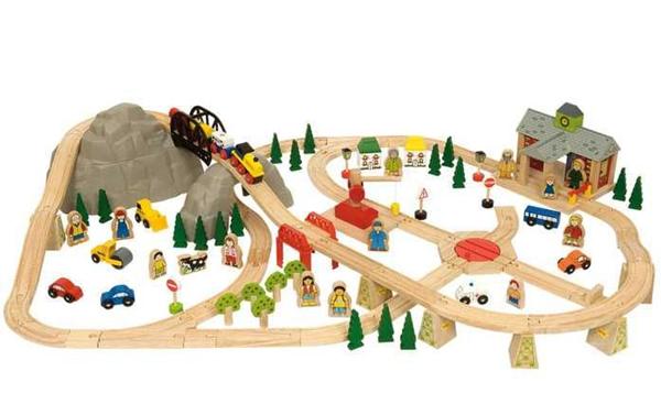 Dřevěná vláčkodráha Horská cesta 112 dílů, Doprava zdarma