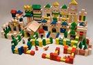 Dřevěné kostky - 500 ks