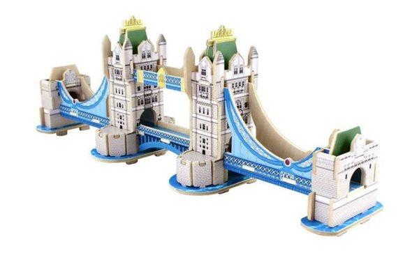 Dřevěná skládačka - Tower Bridge