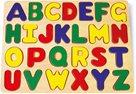 Didaktická skládačka puzzle abeceda