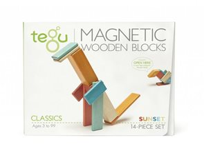 Magnetická stavebnice TEGU Sunset - 14 dílů