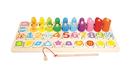 Dětská dřevěná edukativní hra
