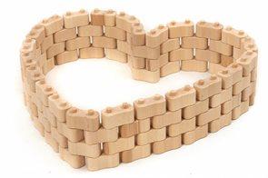 Dřevená stavebnice Godi, 96 dílů