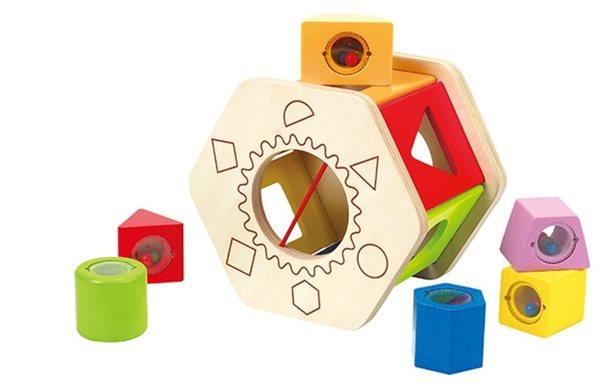 Krabička na vkládání geometrických tvarů