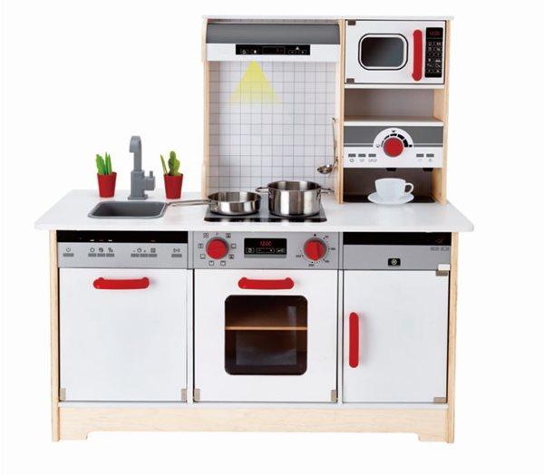 Dřevěná kuchyňka All in 1