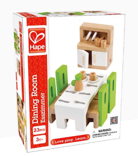 Jídelna - vybavení domečku