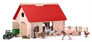 """Farma s příslušenstvím a zvířaty """"Romano"""""""