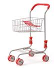 Nákupní vozík, kovový