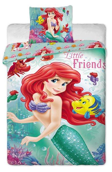 Jerry Fabrics povlečení Ariela bavlna 140x200 70x90 - 140 x 200 + 70 x 90cm