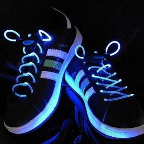 LED tkaničky do bot modré