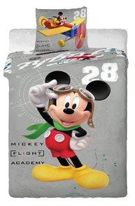 Dětské povlečení Mickey a letadlo 140x200