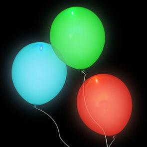 Sada svítících párty balónků 15ks