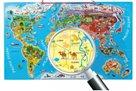 "Puzzle - Mapa světa ""Orbis pictus"""