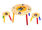 Dětský stolek Krtek + 2 židle