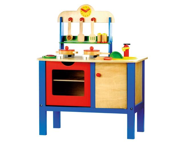 Dětská kuchyňka s příslušenstvím, 17 dílů, Doprava zdarma