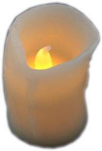 LED svíčka vosková 5 cm