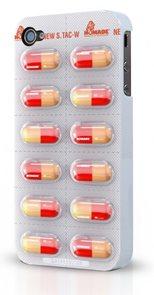 Kryt na iPhone 4 Pilulky