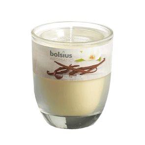 Svíčka ve skle Vanilka