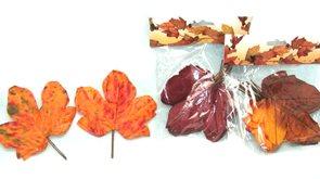 Podzimní list menší 12 ks