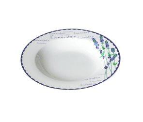 Keramický talíř Levandule polévkový