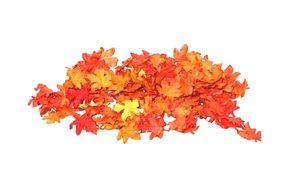 Dekorační podzimní lístky menší