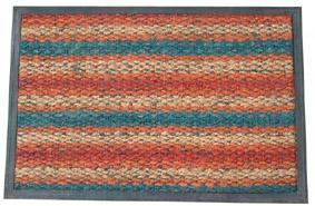 Rohožka obdélníková barevná 40 x 60 cm