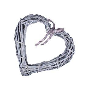 Ratanové srdce 30 cm