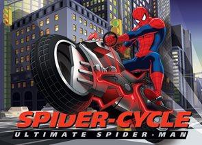 Dětský koberec Spiderman Biker 95 x 133 cm
