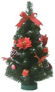 Umělý stromek Smrk zdobený 45 cm
