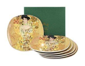 Sada dezertních talířů G. Klimt - Adéle 6 ks