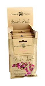 Sůl do koupele Champs de Provence - Růže