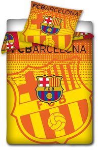 Fotbalové povlečení FC Barcelona Catalonia 2014 140 x 200 cm