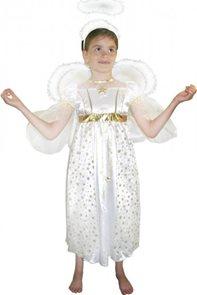 Kostým anděl s křídly vel. L