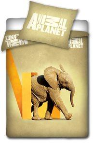 Povlečení Animal Planet Slon 140 x 200 cm