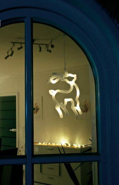 Svítící LED ozdoba Sob