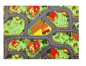 Dětský koberec Farma 200 x 200 cm