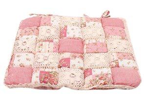 Polštářek na židli Růže II patchwork
